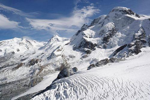 Monte Rosa massief van Menno Boermans