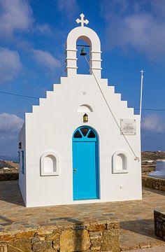 Kirche auf Mykonos, Griechenland von Adelheid Smitt