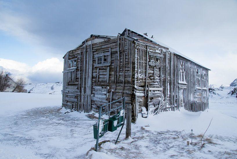 Het vervallen huis van Hetwie van der Putten