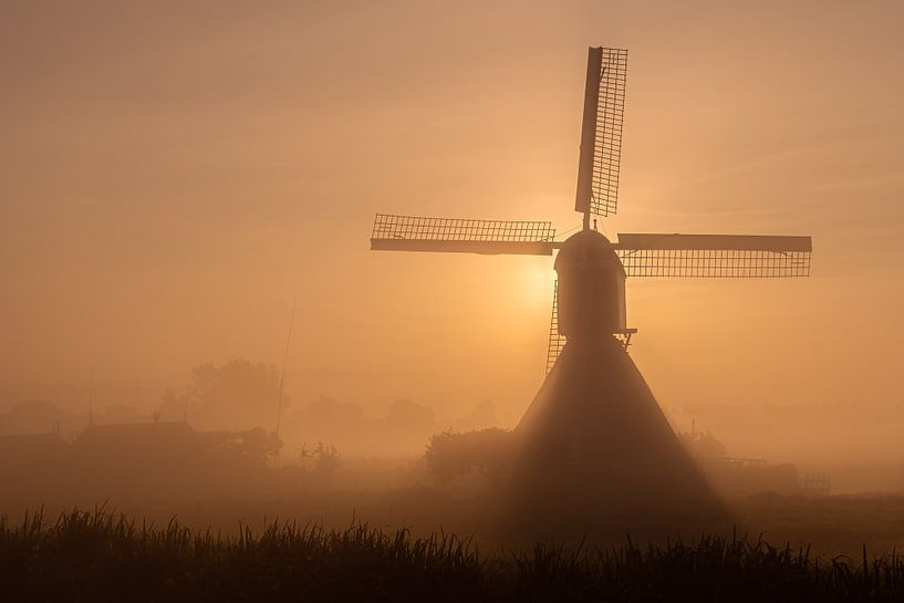 Orange mill van Jan Koppelaar