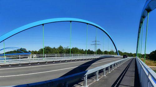 Brückenpanorama van Edgar Schermaul