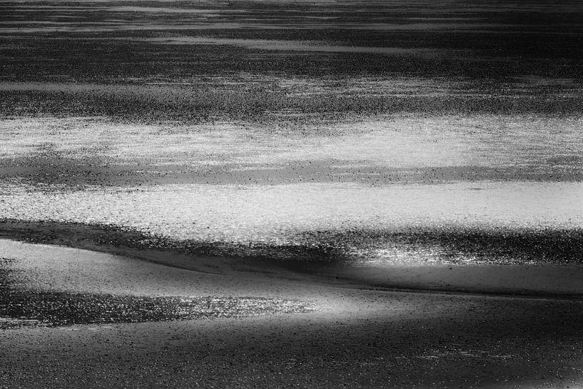 Lines in black and white 2 van Greetje van Son