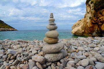 Magischer Steinstrand im Naturreservat von Zingaro von Silva Wischeropp