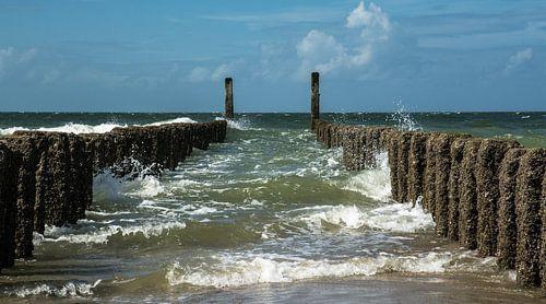 Noordzee, Burgh-Haamstede van Leo Langen