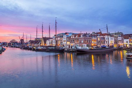 Galgenwater, Leiden