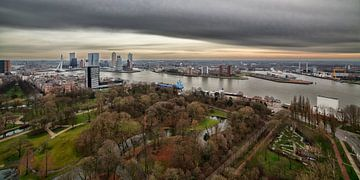 Rotterdam in vogelvlucht van Rob van der Teen