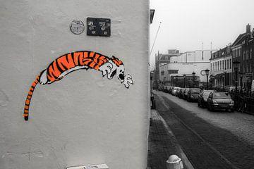 jumping graffiti van jasper vriezen