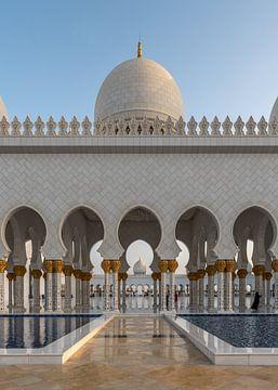 Sheik Zayed Mosque van