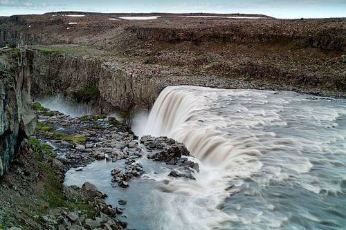 Dettifoss waterval van Ab Wubben
