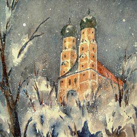 Pfarrkirchen - De winter op de Gartlberg van Christine Nöhmeier