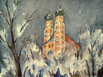 Pfarrkirchen - Winter auf dem Gartlberg von Christine Nöhmeier
