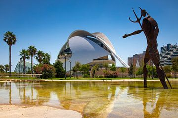 Palau de les Arts Reina Sofía à Valence sur Sjors Gijsbers