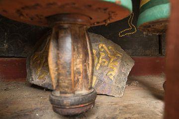 close up gebedswiel van
