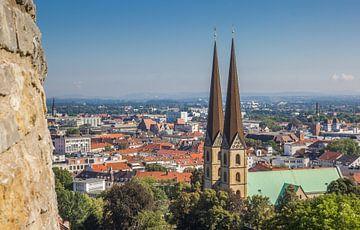 Marienkirche im historischen Zentrum von Bielefeld von Marc Venema