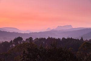 Tasmanien Cradle Valley Sonnenaufgang  - National Park -