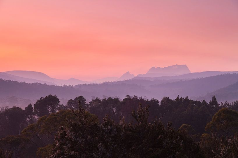 Tasmanien Cradle Valley Sonnenaufgang  - National Park - von Jiri Viehmann