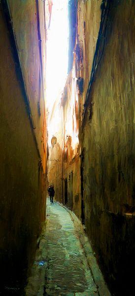 Steegje Toledo van Frans Jonker