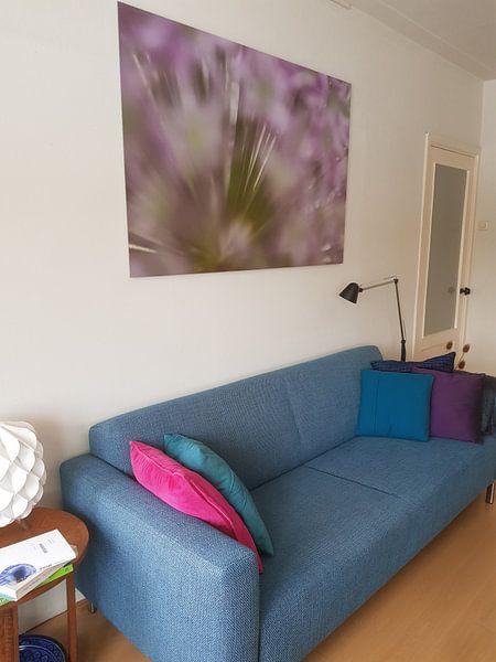 Klantfoto: Allium bloem van Margot van den Berg
