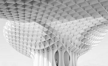 l'architecture en noir et blanc sur Corrie Ruijer