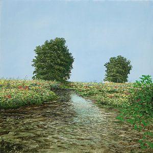 Image du ruisseau de l'arbre