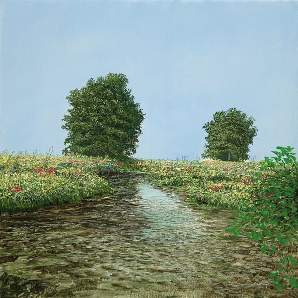 Image du ruisseau de l'arbre sur Art Demo