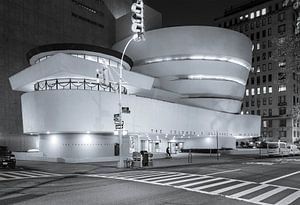 Guggenheim Museum At Night, New York City