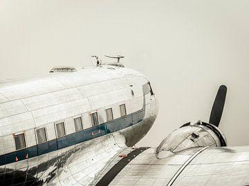 Vintage Douglas DC-3 propellor Flugzeug von Sjoerd van der Wal
