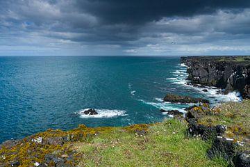 Kliffen van Svörtuloft, IJsland van Joep de Groot