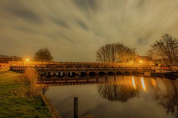 Munnekezijl-Brücke von Henk Cruiming