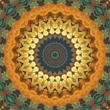 Mandala-stijl 57 van Marion Tenbergen