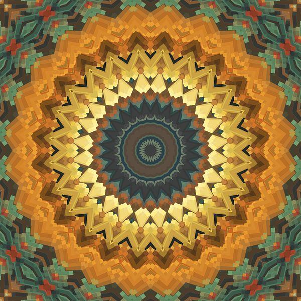 Mandala Stil 57 von Marion Tenbergen