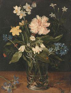 Stilleven met Bloemen in een vaas, Jan Brueghel