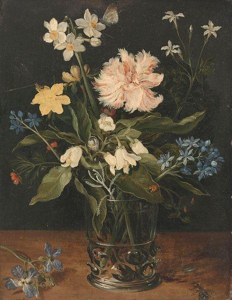 Stilleven met Bloemen in een vaas, Jan Brueghel van Meesterlijcke Meesters