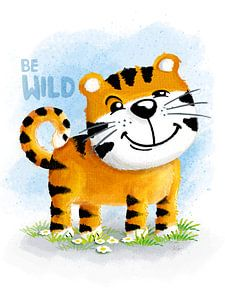 Be Wild Tiger