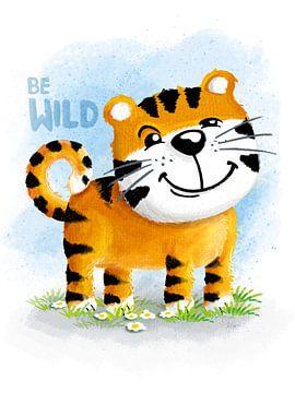 Be Wild Tiger von Stefan Lohr