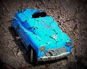 Grunge Kinder autootje