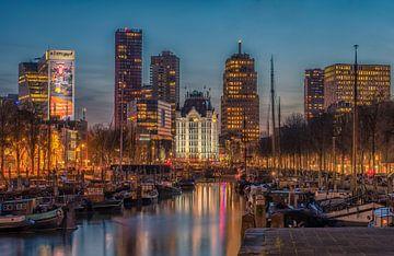 Witte huis Rotterdam von Rien van Bodegom