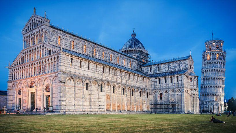 Pisa - Piazza dei Miracoli van Alexander Voss