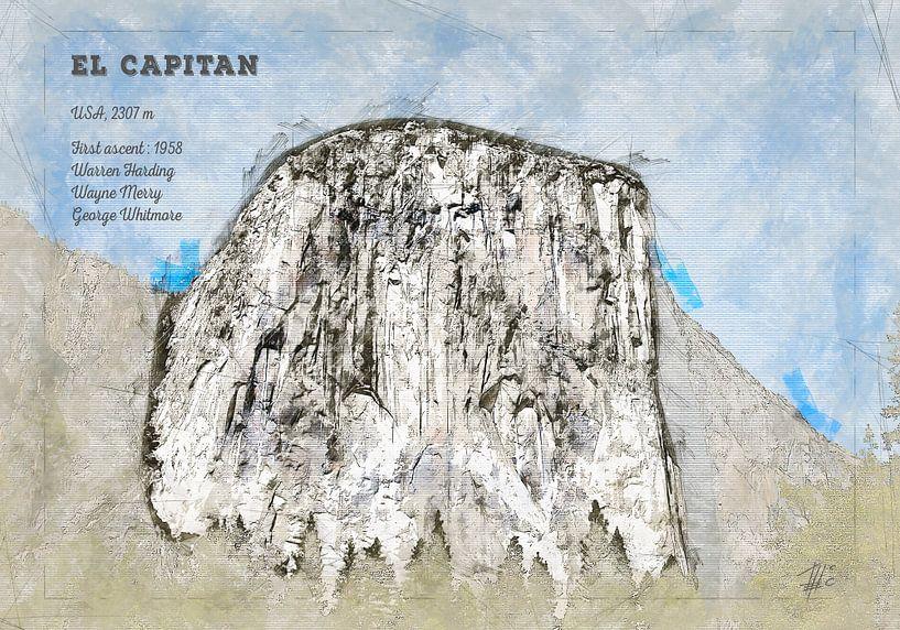 El Capitan, Yosemite, USA von Theodor Decker