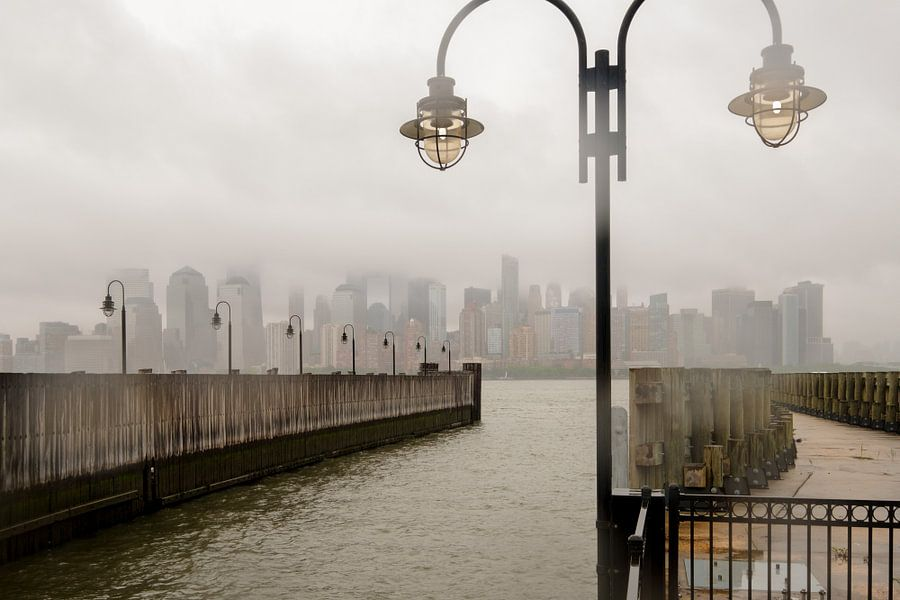 New York      im Dunst
