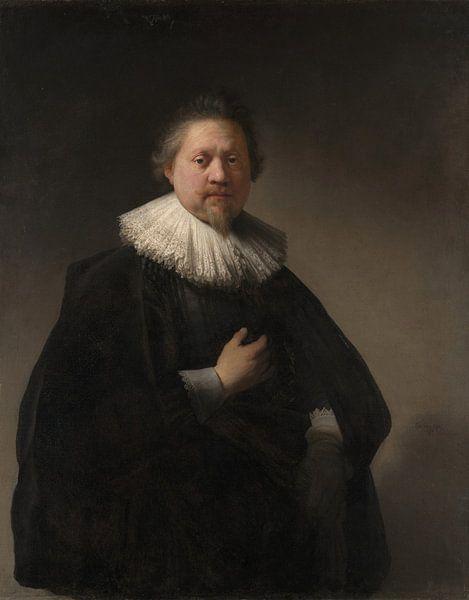 Porträt eines Mannes, Rembrandt von Rembrandt van Rijn