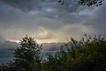 Onweer Italie van Jolanda Wisselo