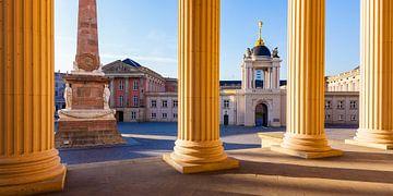 Blick auf das Stadtschloss mit Fortunaportal in Potsdam von Werner Dieterich