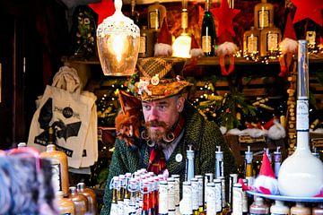 Bijzonder typetje op de kerstmarkt in Keulen von Martin Van der Pluym