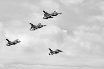 Genral Dynamics / Lockheed Martin F-16AM-Formation von Robbert De Reus