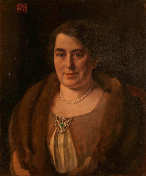 Adèle van Meekren, die zweite Frau von Andries van Wezel, Willem Witsen von Meesterlijcke Meesters