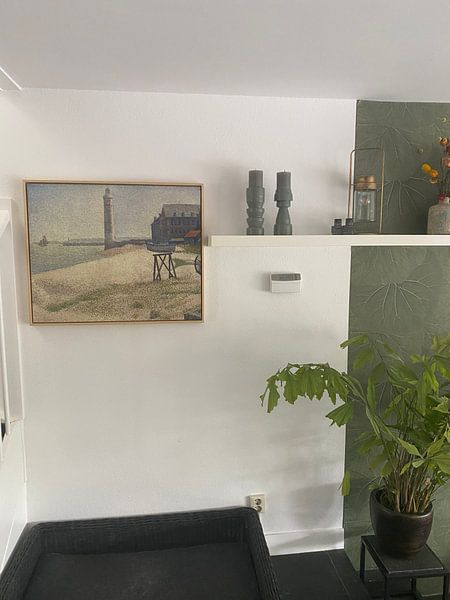 Photo de nos clients: Le Phare à Honfleur, Seurat