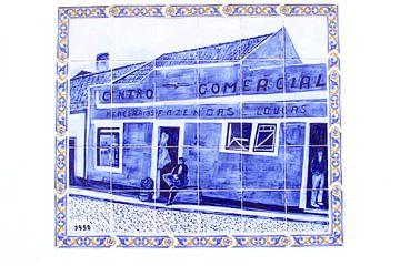 Portugiesische Fliesen (Azulejos) von Inge Hogenbijl