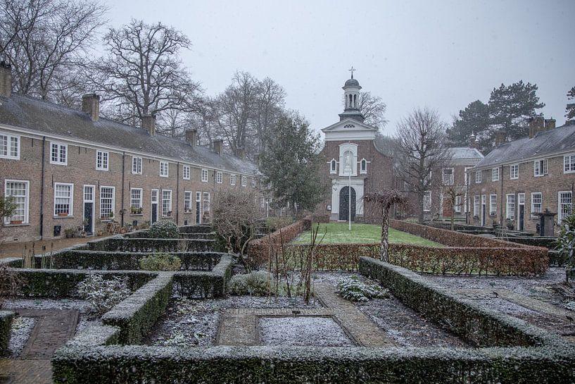 Panoramafoto Begijnhof Breda von I Love Breda