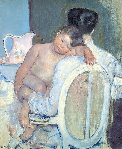 Mary Cassatt. Woman Sitting with a Child in Her Arms van 1000 Schilderijen